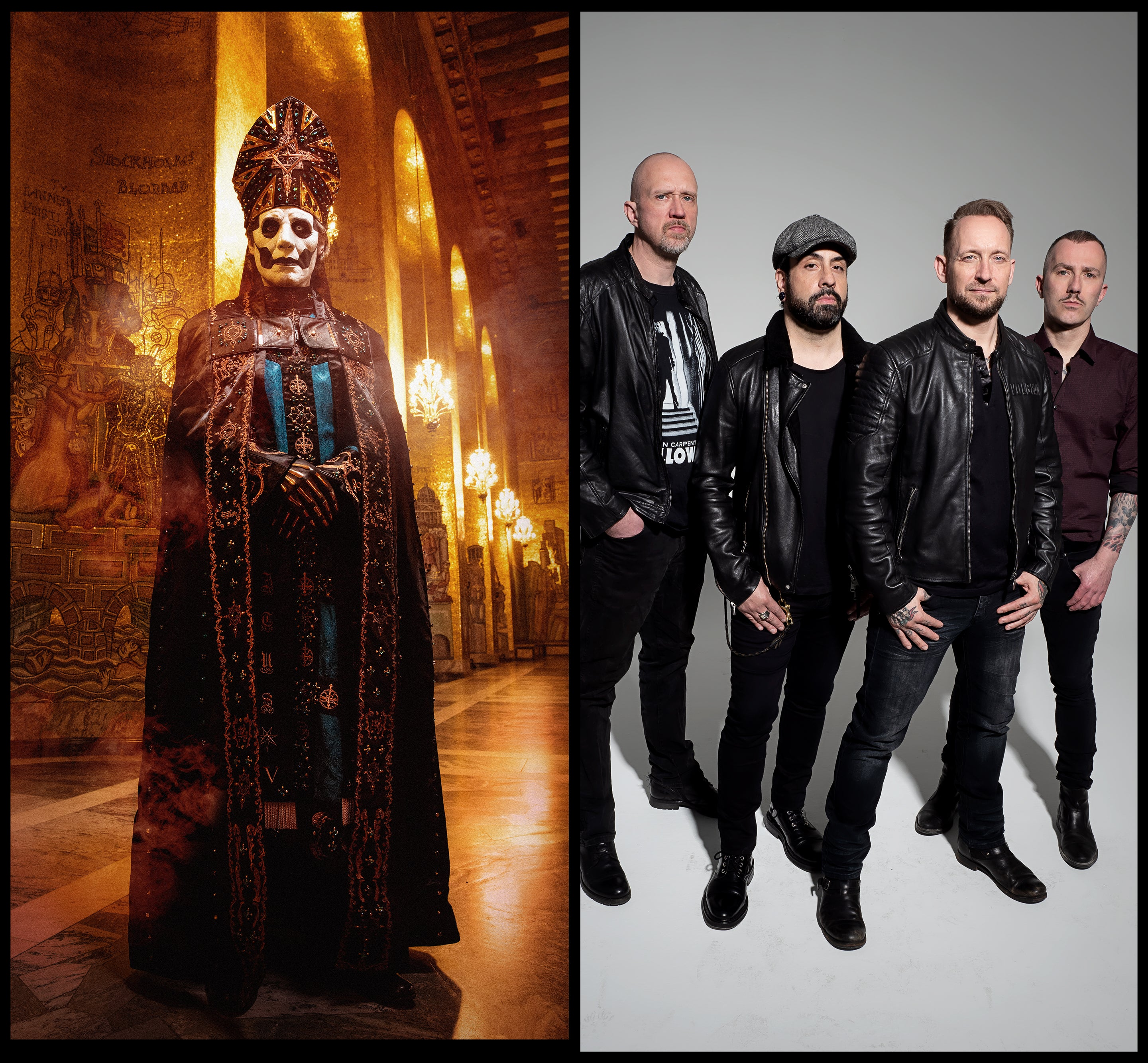 More Info for GHOST and Volbeat